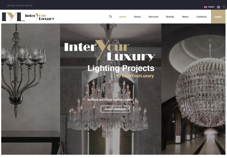siti web inter your luxury