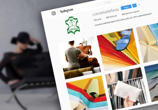 social mktg instagram conceria stefania