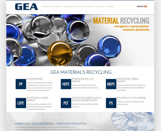 gea trade web site
