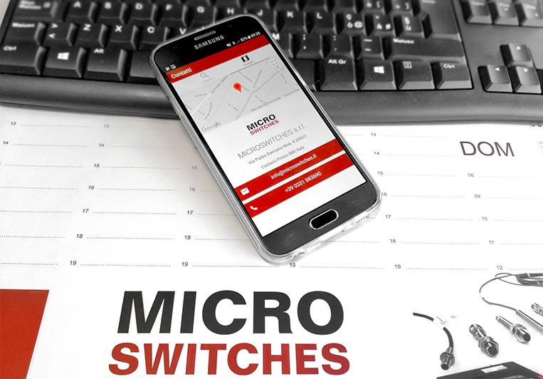 app lista fornitori microswitches