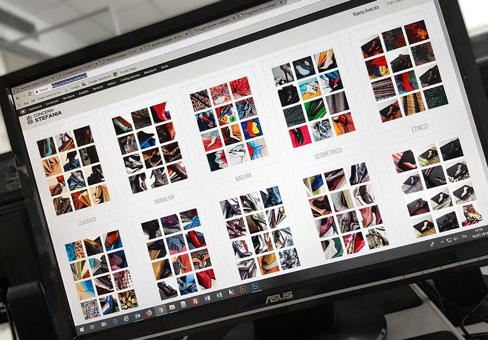 catalogo e archivio di prodotti online